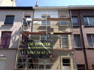 De Winter Renovatiewerken schildert onder meer gevels en andere buitenschilderwerken